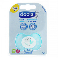 Dodie Sucette Anatomique Silicone 0-2 Mois N°A26